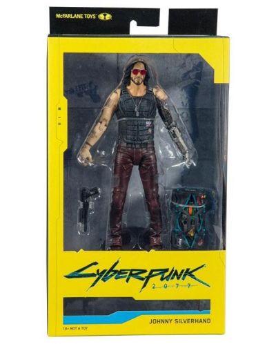 Figurina de actiune McFarlane Cyberpunk 2077 - Johnny Silverhand,18 cm - 5