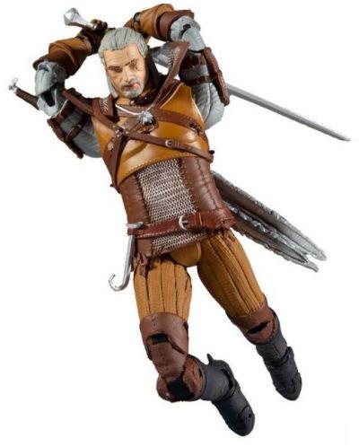 Figurina de actiune McFarlane Games: The Witcher - Geralt of Rivia (Gold Label Series), 18 cm - 1