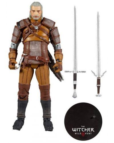 Figurina de actiune McFarlane Games: The Witcher - Geralt of Rivia (Gold Label Series), 18 cm - 4