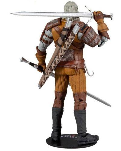 Figurina de actiune McFarlane Games: The Witcher - Geralt of Rivia (Gold Label Series), 18 cm - 3