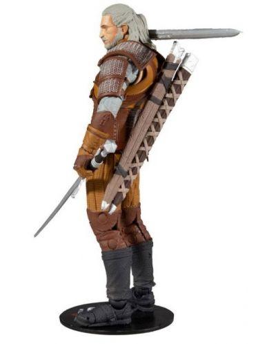 Figurina de actiune McFarlane Games: The Witcher - Geralt of Rivia (Gold Label Series), 18 cm - 2