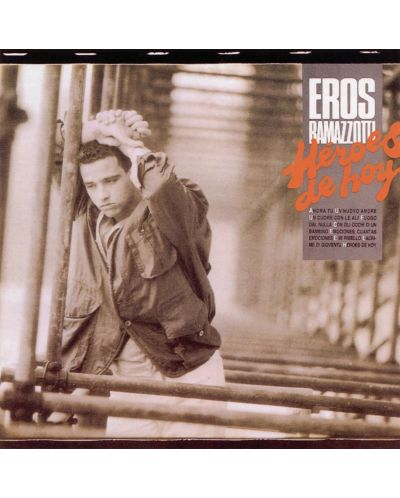 Eros Ramazzotti - Heroes de hoy, Spanish Version (Red Vinyl) - 1