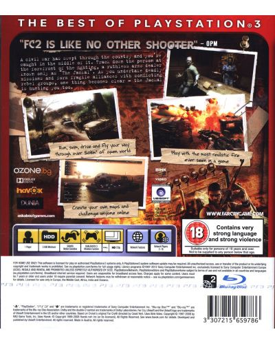 Far Cry 2 - Essentials (PS3) - 3