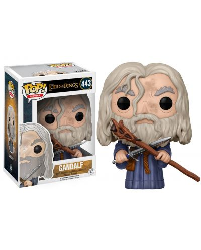 Figurina Funko Pop! Movies: The Lord of the Rings - Gandalf, #443 - 2