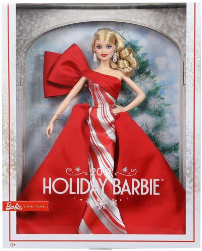 Papusa de colectie Mattel Barbie - Holiday - 1