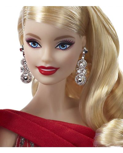 Papusa de colectie Mattel Barbie - Holiday - 5