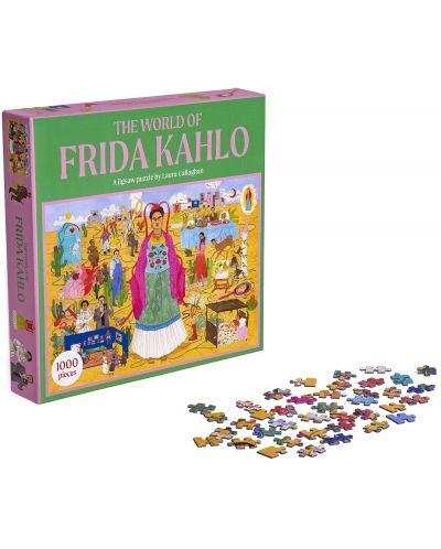 Puzzle Galison de 1000 piese - World of Frida Kahlo - 2