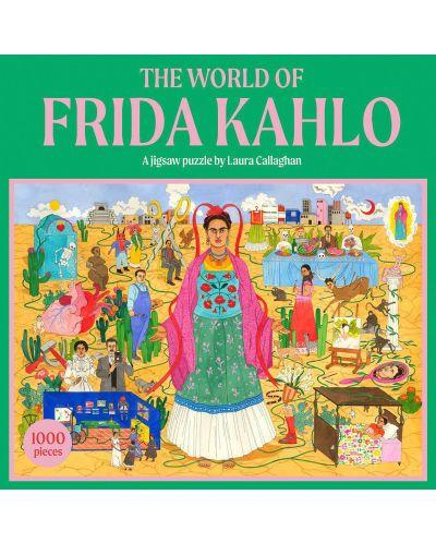 Puzzle Galison de 1000 piese - World of Frida Kahlo - 1