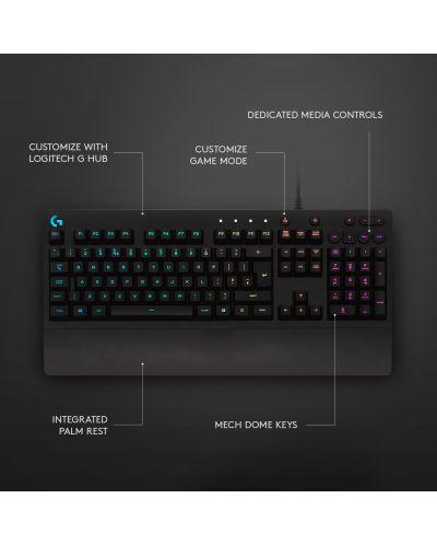 Tastatura gaming Logitech - G213 Prodigy, RGB, neagra - 7