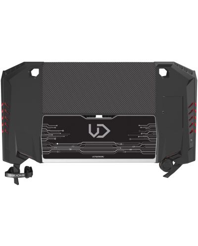 Birou gaming  Ultradesk - Rocket, negru - 2