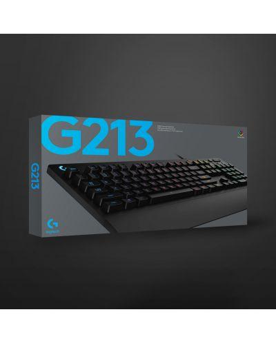 Tastatura gaming Logitech - G213 Prodigy, RGB, neagra - 8