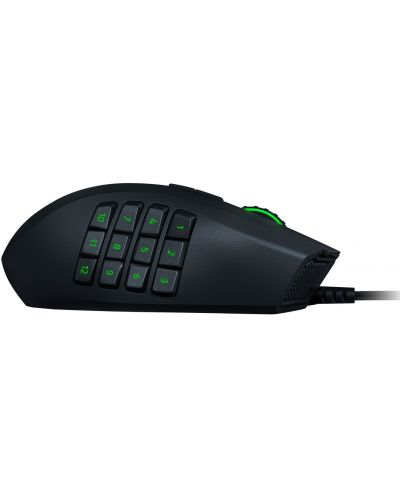 Mouse gaming Razer - Naga Left-Handed Edition, optic, 20 000 DPI, negru - 5