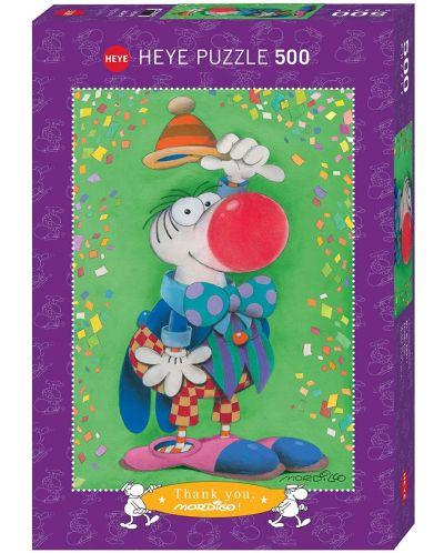 Puzzle Heye de 500 piese - Mordillo, Thank You! - 1