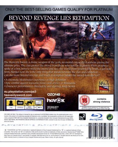 Heavenly Sword - Essentials (PS3) - 3