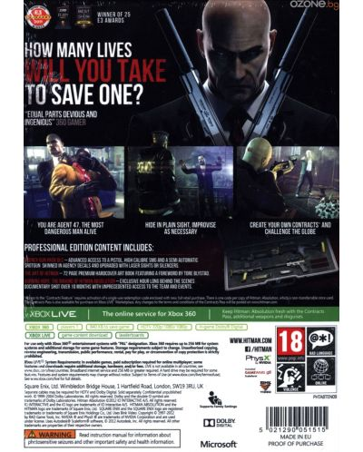 Hitman: Absolution - Professional Edition (Xbox 360) - 3