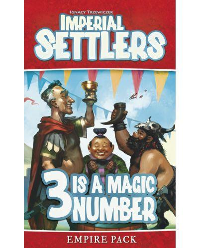 Extensie pentru joc cu carti Imperial Settlers: 3 Is A Magic Number - Empire Pack - 3
