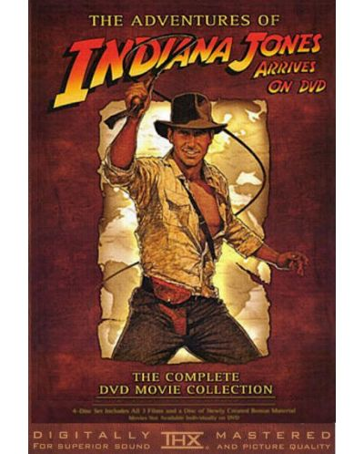 Indiana Jones Trilogy (DVD) - 1