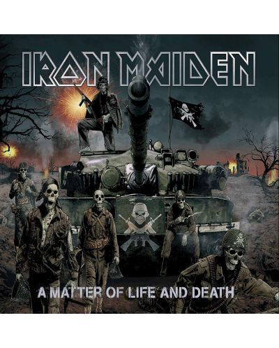 Iron Maiden - A Matter Of Life And Death, Remastered (CD) - 1