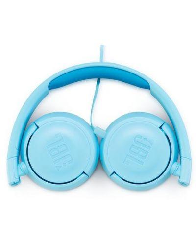Casti pentru copii  JBL - JR300, albastre - 5