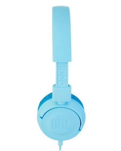 Casti pentru copii  JBL - JR300, albastre - 4