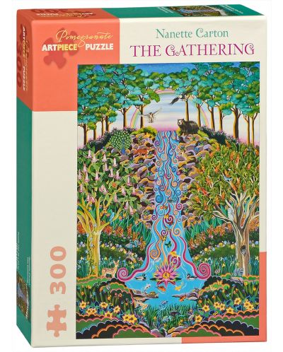 Puzzle Pomegranate de 300 piese - Adunarea, Nanette Carton - 1