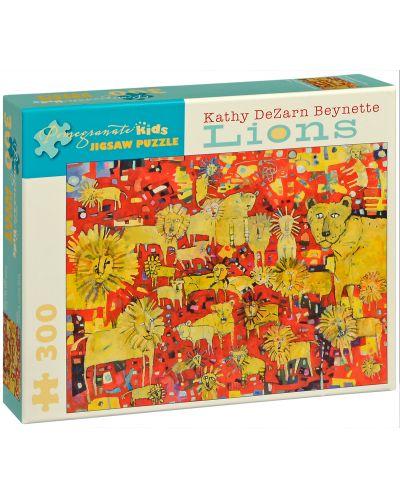 Puzzle Pomegranate de 300 piese - Lei, Kathy Beynette - 1