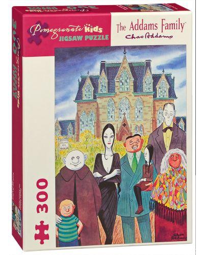 Puzzle Pomegranate de 300 piese - Familia Adams, Charles Addams - 1