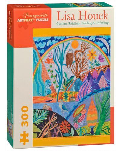 Puzzle Pomegranate de 300 piese - Infasurare, pliere, Lisa Houck - 1
