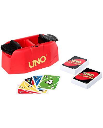 Carti de joc UNO Showdown - Dispozitiv cu sunet si lumina - 1