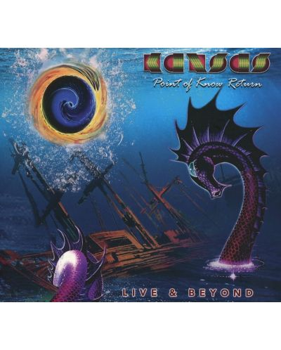 Kansas - Point Of Know Return Live & Beyond (Digipack) (2 CD) - 1