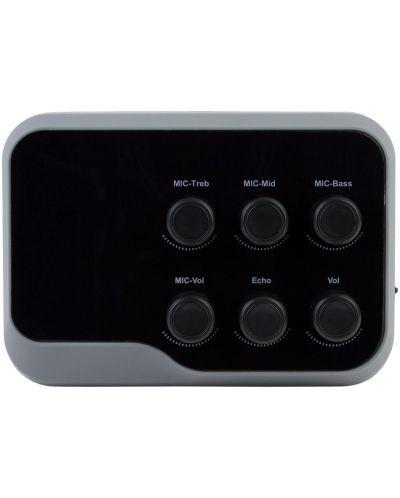Karaoke mixer Diva - BT-01, negru/gri - 1