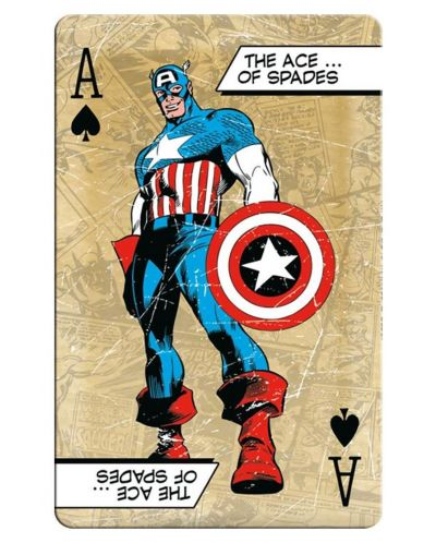 Carti de joc  Waddingtons - Marvel Retro - 3