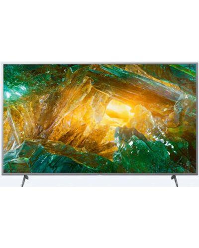 Televizor Smart Sony - KD-43XH8077, 43'', 4K, HDR, negru - 1