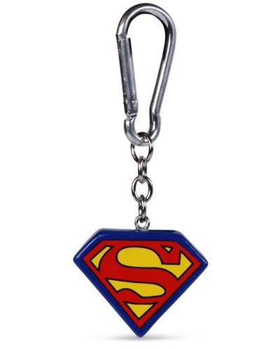 Breloc Pyramid DC Comics:  Superman - Logo, 3D - 1