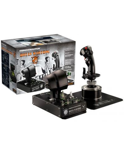 Set joystick si throttle Thrustmaster - Hotas Warthog, pentru PC - 4