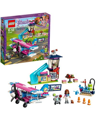 Set de construit Lego Friends - Flight over Hartlake (41343) - 3