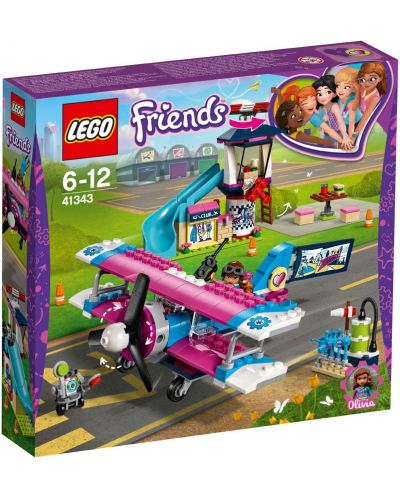 Set de construit Lego Friends - Flight over Hartlake (41343) - 1