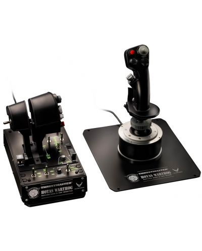 Set joystick si throttle Thrustmaster - Hotas Warthog, pentru PC - 2