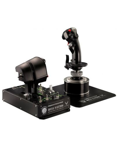 Set joystick si throttle Thrustmaster - Hotas Warthog, pentru PC - 1