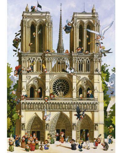 Puzzle Heye de 1000 piese - Sa traiasca Notre Dame!, Jean-Jaques Loup - 2