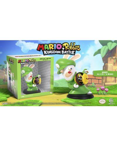 Figurina Mario + Rabbids Kingdom Battle: Rabbid Luigi 6'' Figurine - 2