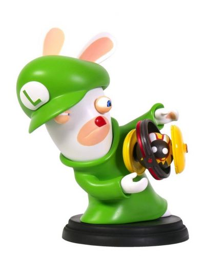 Figurina Mario + Rabbids Kingdom Battle: Rabbid Luigi 6'' Figurine - 3
