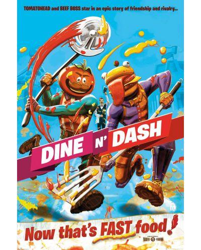 Poster maxi GB Eye Fortnite Dine N' Dash - 1