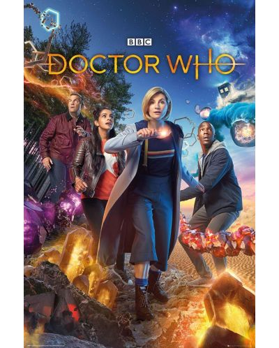 Poster maxi GB Eye Doctor Who - Group - 1
