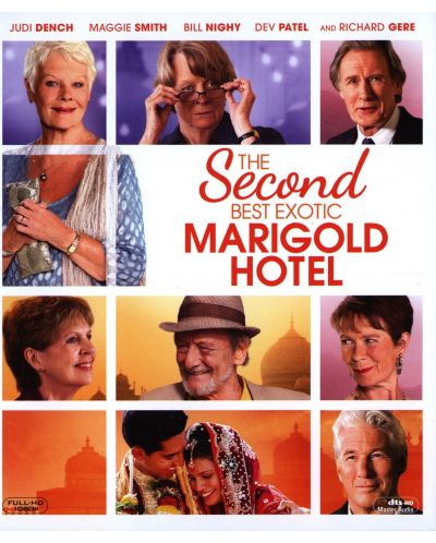 The Second Best Exotic Marigold Hotel (Blu-ray) - 1