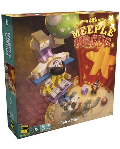 Joc de societate Meeple Circus - de familie - 1