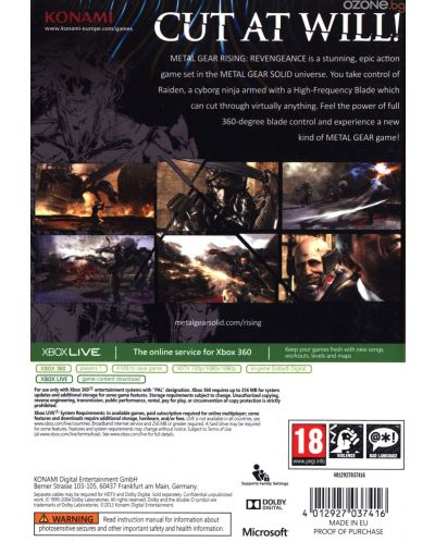 Metal Gear Rising: Revengeance (Xbox One/360) - 3