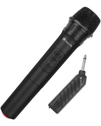 Microfon NGS - Singer Air, woreless, negru - 2
