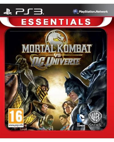 Mortal Kombat vs. DC Universe - Essentials (PS3) - 1