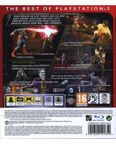 Mortal Kombat vs. DC Universe - Essentials (PS3) - 3